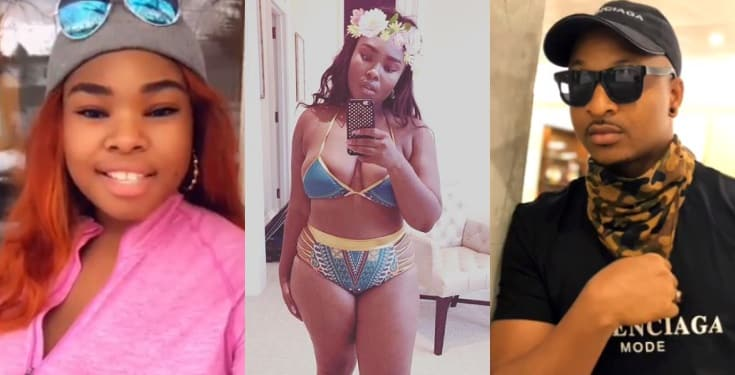 'IK Ogbonna is gay. He is sleeping with upcoming Nollywood actors' -Nigerian Lady Bold Pink, says
