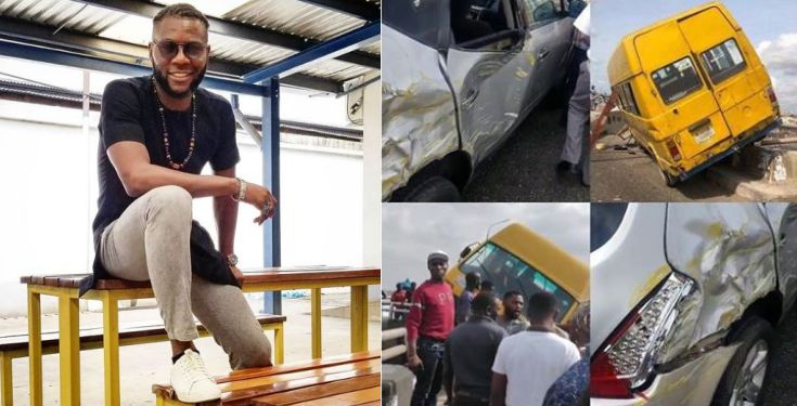 Man narrates how he stopped a Danfo bus from plunging into the Lagoon (Video)