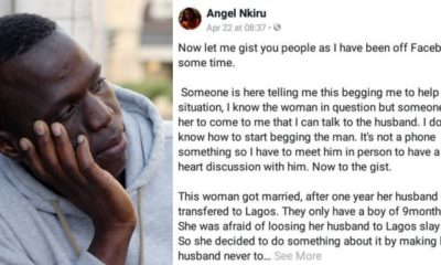 Man threatens to divorce wife for rendering him impotent