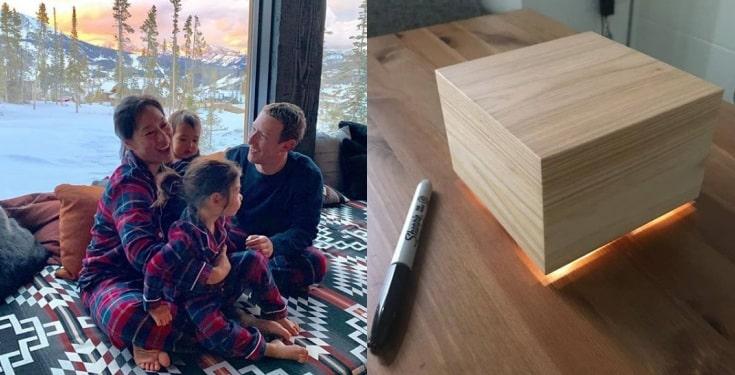 Mark Zuckerberg Builds Sleep Box For Wife, Priscilla Chan (Photos)
