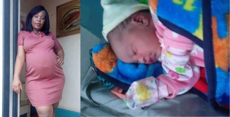 Maureen Solomon welcomes third child 12 years after she had her second