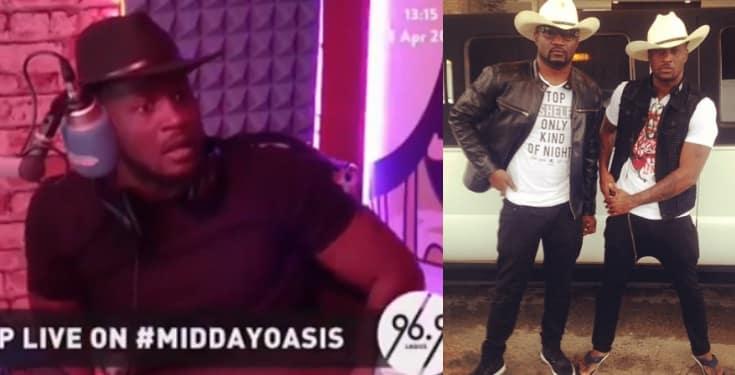''Me and my elder brother, Jude Okoye, don't talk'' - Peter Okoye (Video)