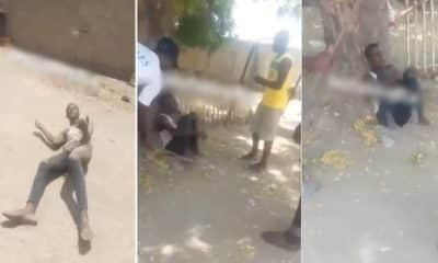 Mom catches a neighbor trying to defile her daughter in Borno (Video)