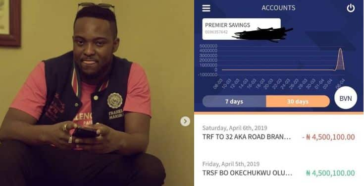 Music producer Austynobeatz returns ₦4.5 million mistakenly sent into his account