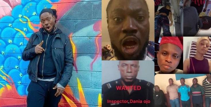 'Na Ogun go kill all of Una' - Daddy Showkey curses SARS Officers for killing a lady (Video)