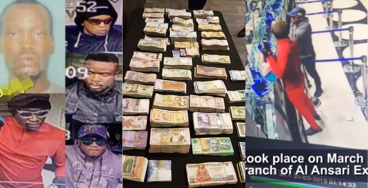 Names of the five Nigerians arrested for robbery in Dubai