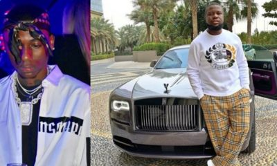 Nigerian big boy Dharmie Richie threatens to expose Hushpuppi and his fake life
