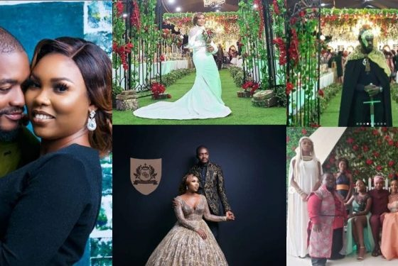 Nigerian couple hold a Game Of Thrones themed Wedding (Photos)