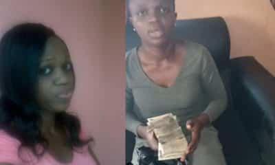 Nigerian lady returns N250k extra money paid to her in bank (Video)