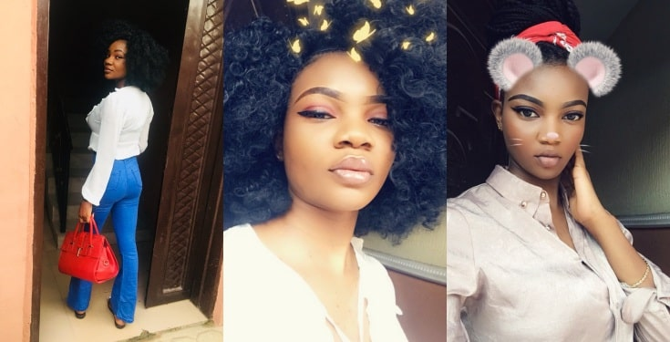 Nigerian lady says she wants to be a housewife and enjoy her husband's money (screenshots)