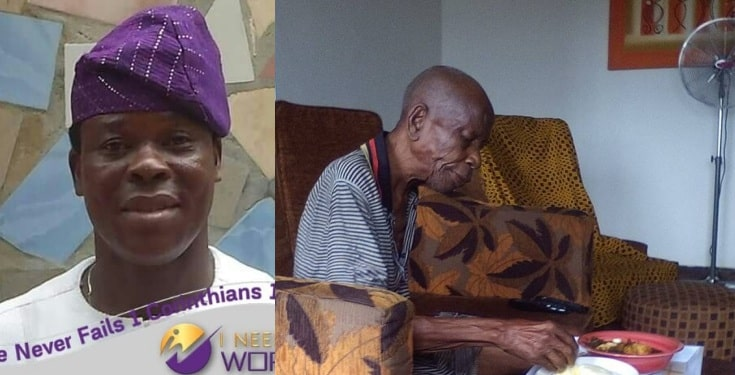 Nigerian man celebrates his 90-year-old father who ''died and rose again'' after 36 hours