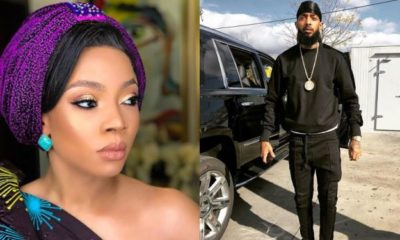 Nigerians Slam Toke Makinwa For Mourning Us Rapper, Nipsey