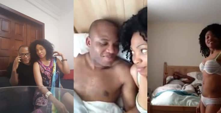 Image result for UPDATE : More details on leaked video of Nnamdi Kanu in bed with a woman