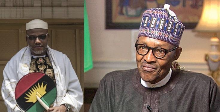 Nnamdi Kanu releases proofs alleging Buhari not Nigerian