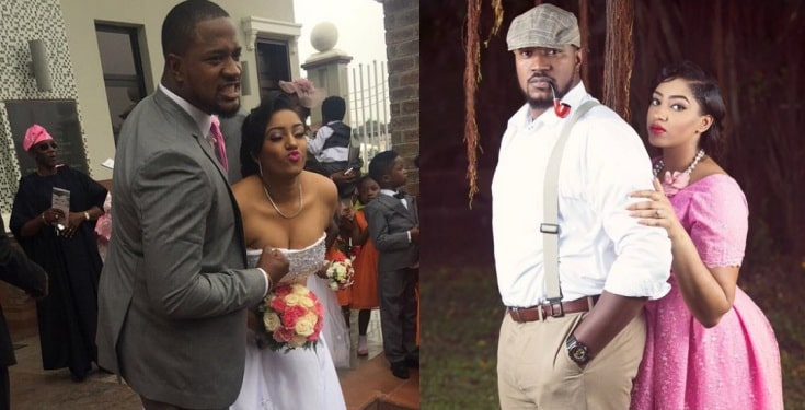 Nollywood actor, Mofe Duncan's 3-yr-old marriage crashes