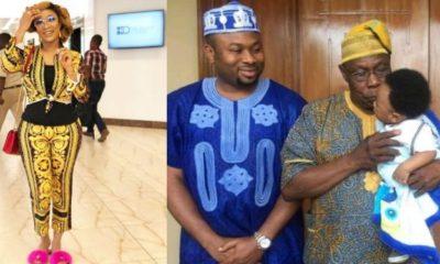 Obasanjo told me Churchill isn't his son – Tonto Dikeh