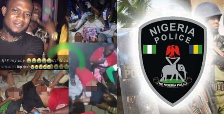 Police Brutality: One stabbed to death, one protester shot dead (Photos)