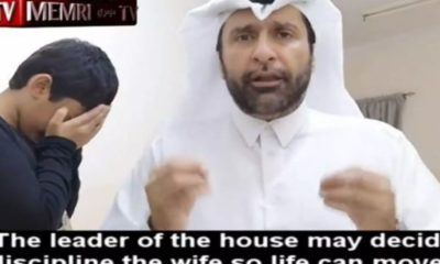 Qatari man shows Muslim men the 'right way to beat their wives' (Video)