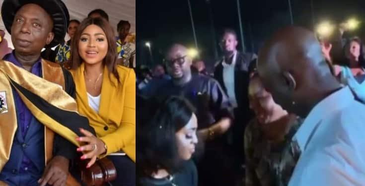 Regina Daniels and alleged 'Husband', Ned Nwoko digging It on the dance floor (Video)