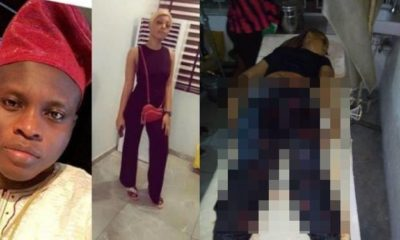 SARS officers allegedly kill lady, leaves her boyfriend unconscious in Lagos (Photos)