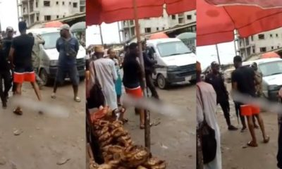 SARS officials harass man for refusing to let them search his phone (video)