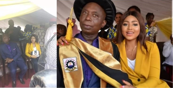 See cosy photo of Regina Daniels and her alleged husband Ned Nwoko