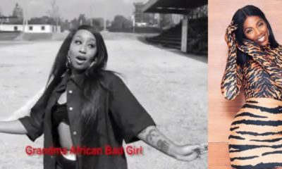 Singer Victoria Kimani slams Tiwa Savage in #fvckyouchallenge (Video)