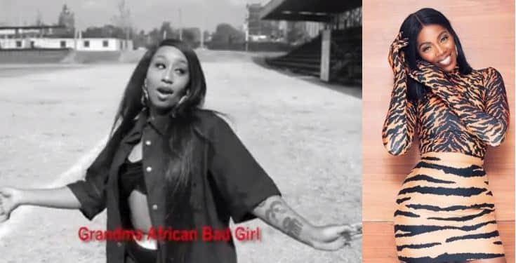 Singer Victoria Kimani slams Tiwa Savage in #fvckyouchallenge (Video)