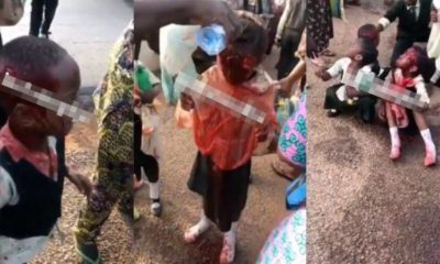 Students involved in an accident, teacher's eye plucked out (Video)