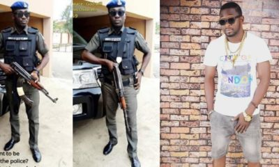Those clamouring for the end of SARS are criminals - Nigerian Policeman, says