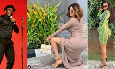 Toke Makinwa slams Bovi for joking about her backside