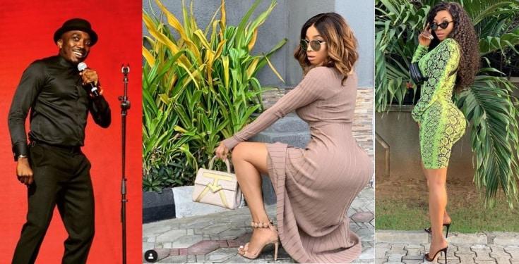 Toke Makinwa slams Bovi for joking about her backside