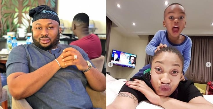 Tonto Dikeh reacts as IG user accuses her of lying and sucking her ex dry