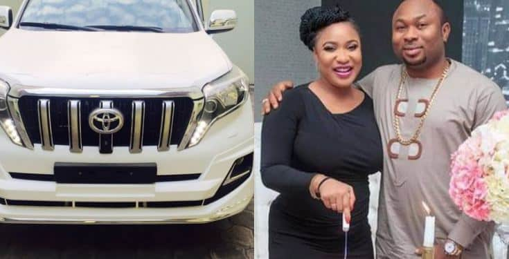 Tonto Dikeh reacts to allegation of selling her ex-husband's Prado Jeep