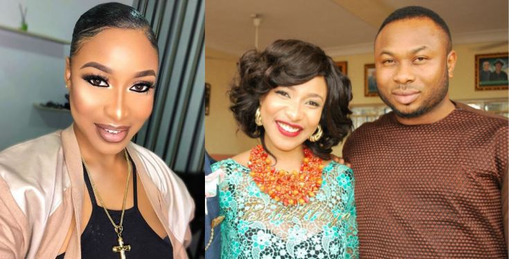 """Tonto Dikeh says her ex-hubby is """"dead"""" in the life of his son, Andre"""
