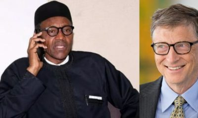 'We will not fail Nigerians' - President Buhari tells Bill Gates