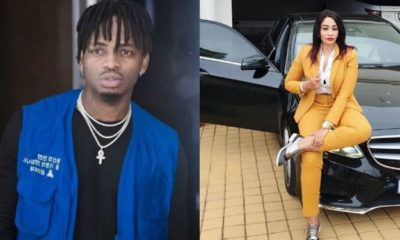 Zari reacts after her ex, Diamond, accused her of cheating on him with Peter PSquare