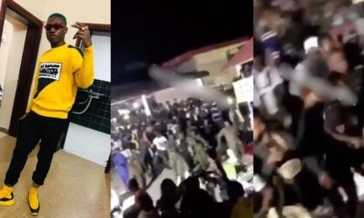 Zlatan Ibile rescued by soldiers after being beaten by rival cultists (Video)