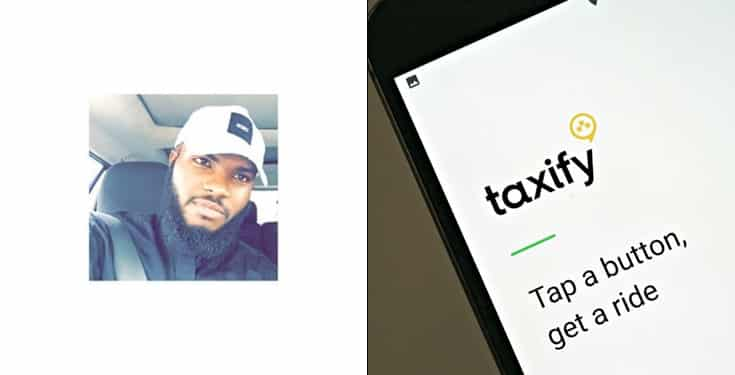Nigerian man calls out Taxify for 'stealing' from him, threatens to sue