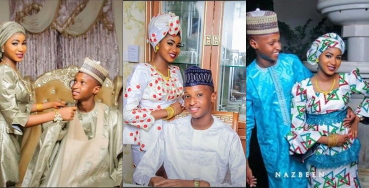Teenage couple in Sokoto, causes a stir online as they drop pre-wedding photos