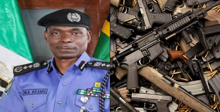 Acting IGP, to employ technology to replace use of weapons