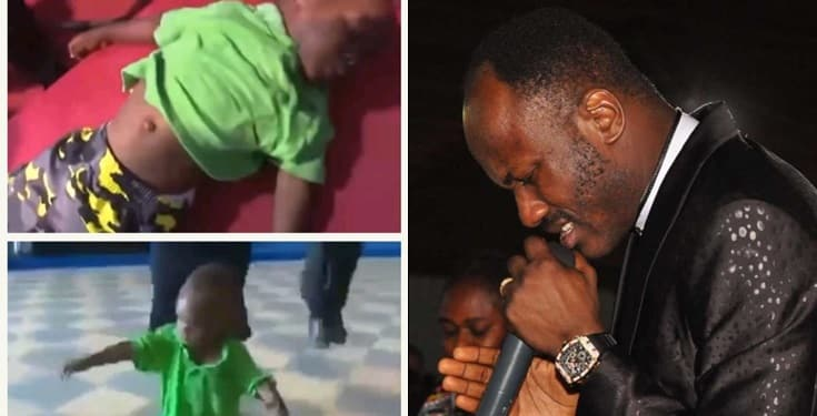 Apostle Johnson Suleman resurrects a dead boy