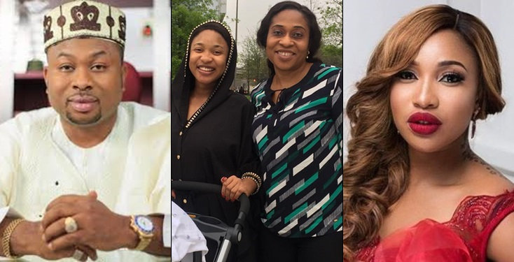 Tonto Dikeh places a curse on her ex-hubby's mum, makes shocking revelations
