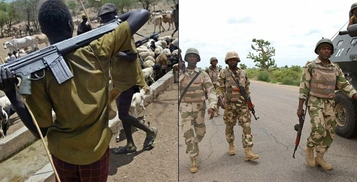 We have killed Fulani herdsmen, they'll never come back – Nigerian soldier