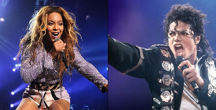 Michael Jackson vs Beyonce – Nigerians argue on who is a better performer