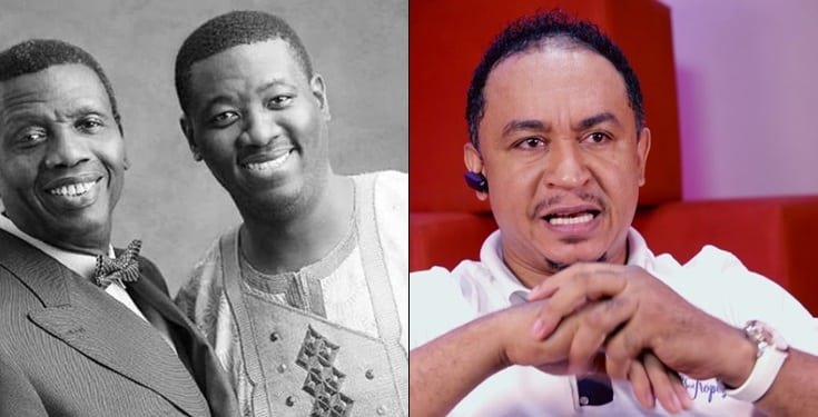 'God is not with Pastor Adeboye and his son – Daddy Freeze