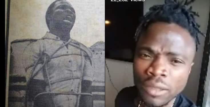 Son of legendary armed robber, Lawrence Anini speaks