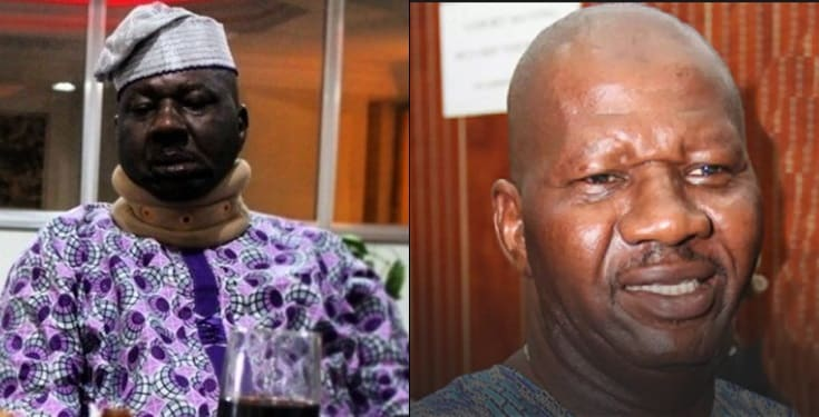 Baba Suwe finally jets off to America for medical treatment