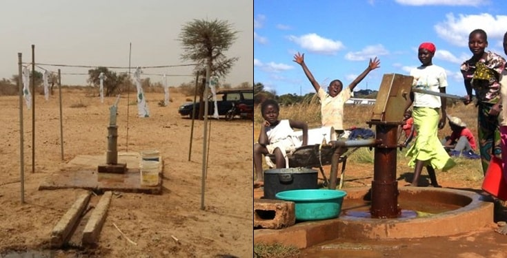 Gateman rejects a house from his boss, begs for borehole in his community