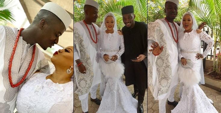 Photos from the wedding ceremony of  Femi Bakre